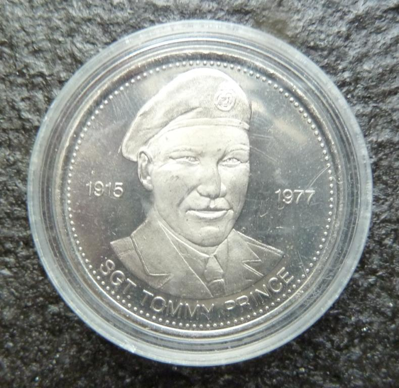 Royal Canadian Mint - sgt. Tommy Prince